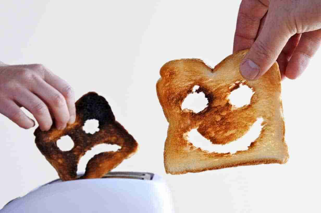 Depression is like burnt toast