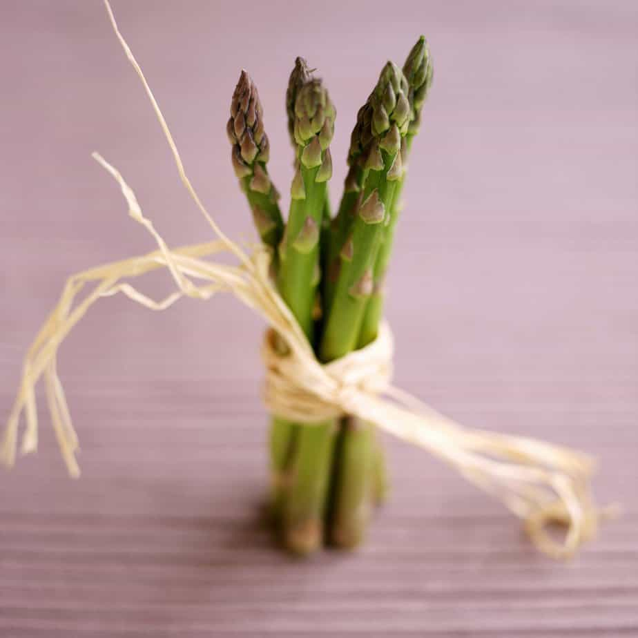 Asparagus healthy eating for good mental health - part 2 - eating