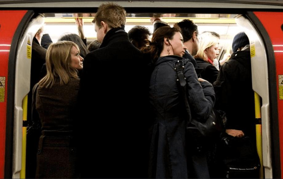 London Underground In Rush Hour