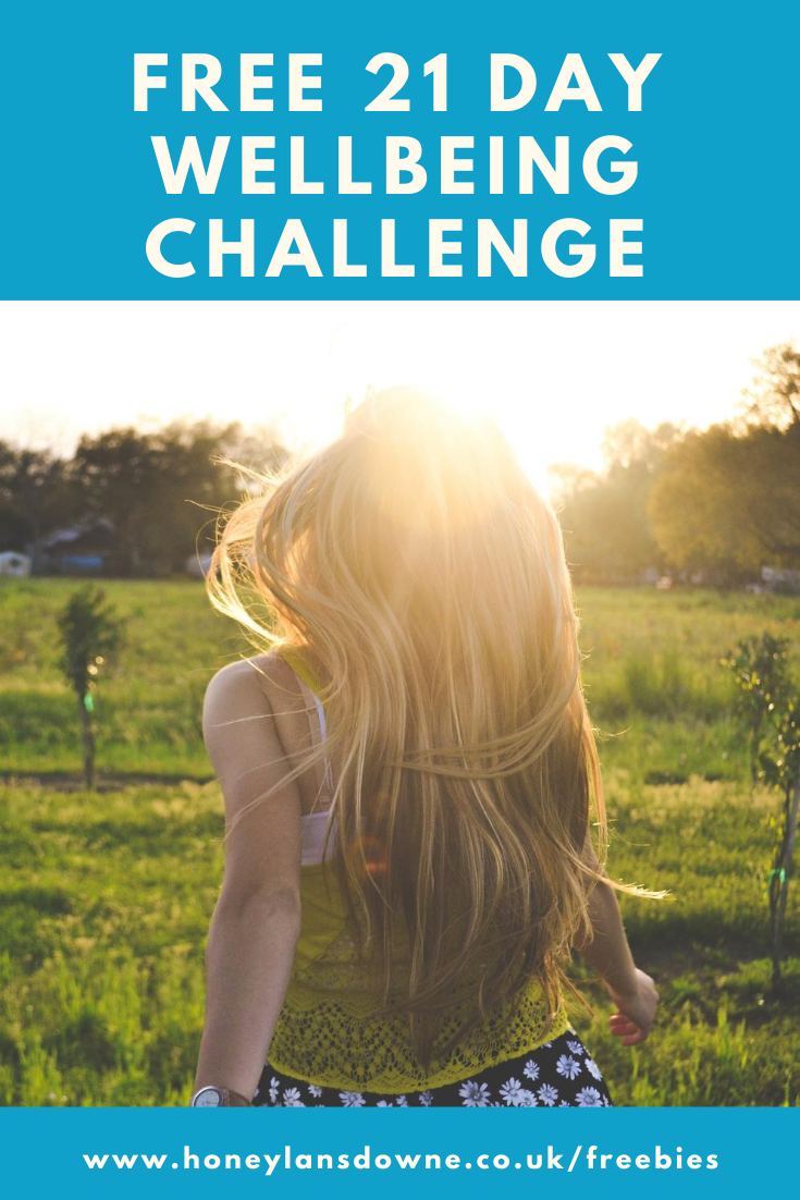 Free 21 day wellbeing challenge