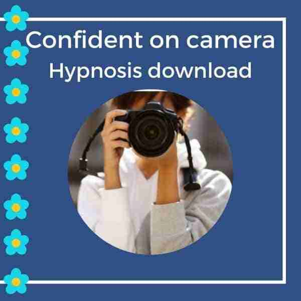 how to be confident on camera hypnosis