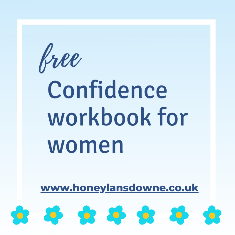 Free confidence workbook for women