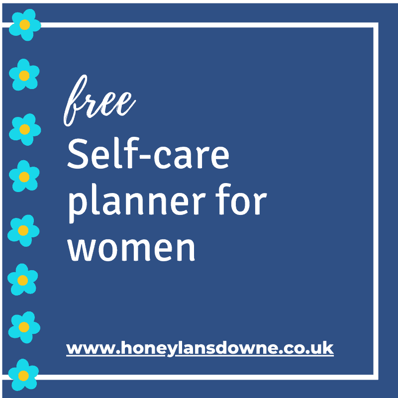 Free Self-care planner for women
